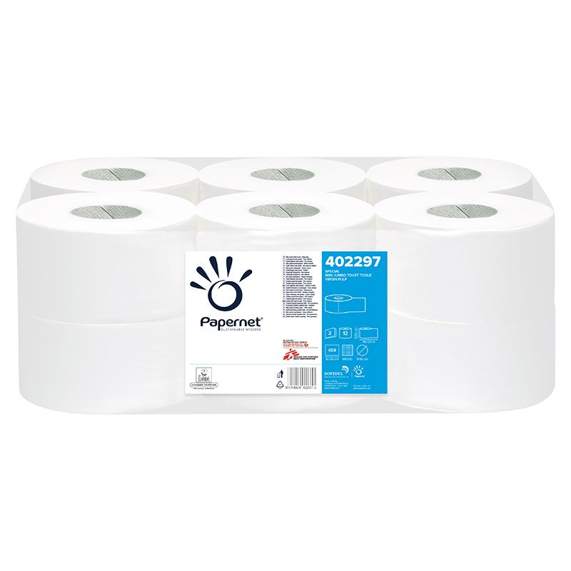 2 Lags Mini Jumbo Toiletpapir 402297 Vejle